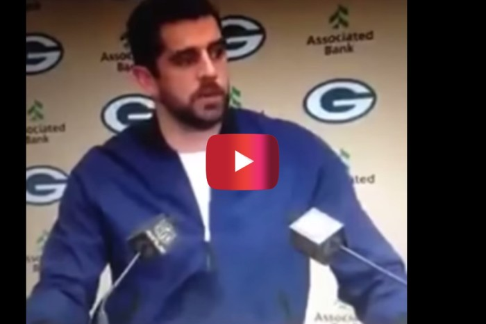 After hearing someone yell something Islamophobic, Aaron Rodgers put the prejudice on notice