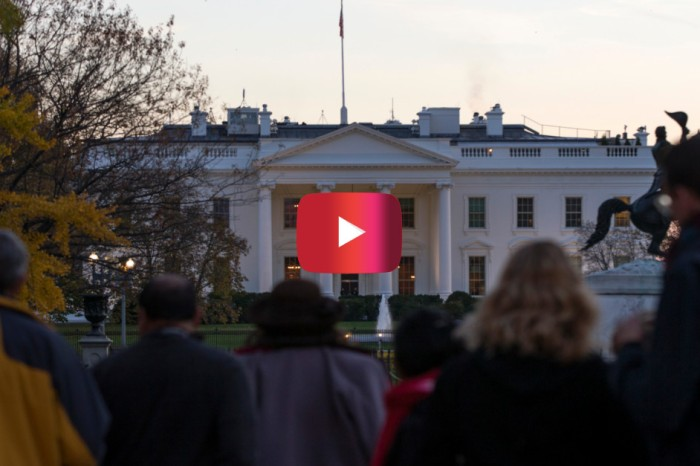 The White House underwent a lockdown after a man climbed the fence on Thanksgiving day