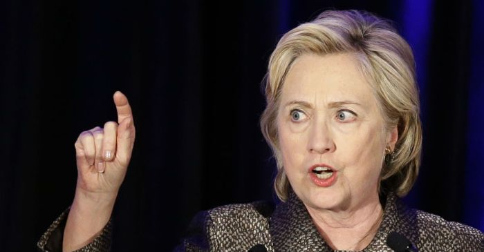 "Hillary Clinton thinks snubbing the Constitution is ""patriotic"""