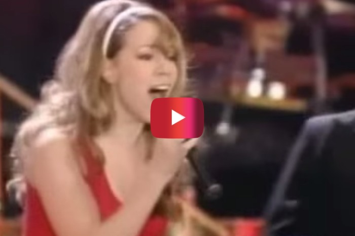 Let a young Mariah Carey remind you why this holiday hit became such a classic
