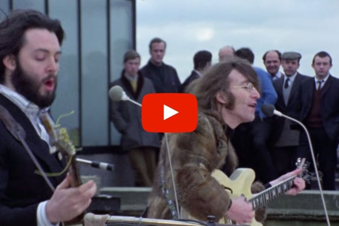 The Beatles Rooftop Final Performance in 1969 Marked The End of an Era