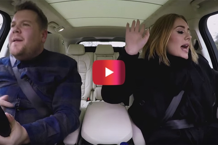 "Adele stopped by ""Carpool Karaoke"" and it might just be the greatest thing we've ever seen"
