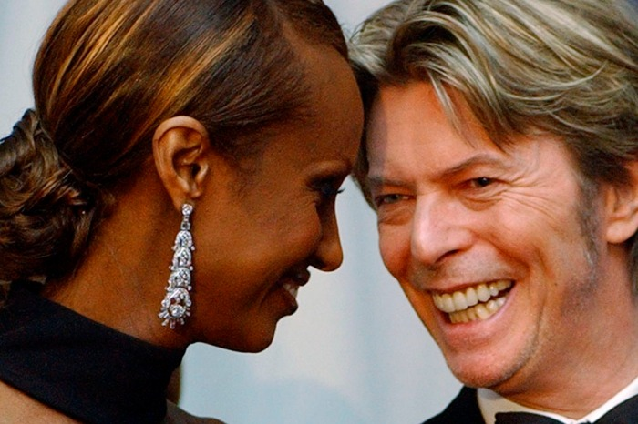 Iman pays tribute to David Bowie on the day they would have celebrated their 25th wedding anniversary