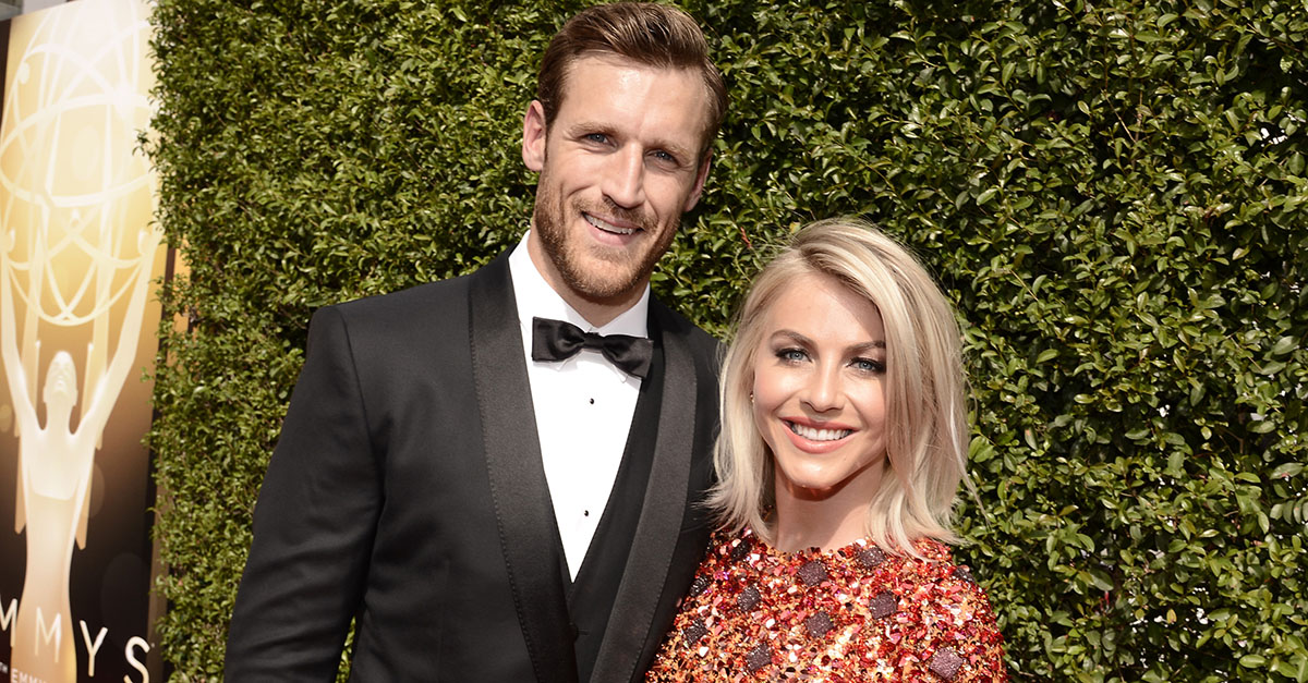 """""""DWTS"""" judge Julianne Hough and fiancé Brooks Laich tied the knot in a super romantic Idaho ceremony"""