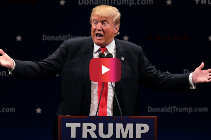 Donald Trump would rather protesters freeze than interrupt his campaign rally