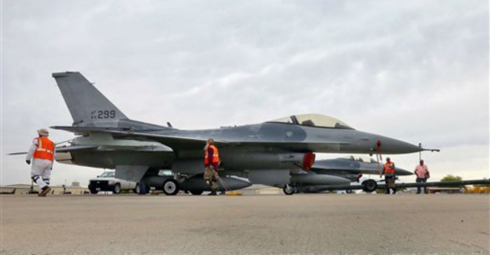 F-16 fighter jet crashes in Arizona