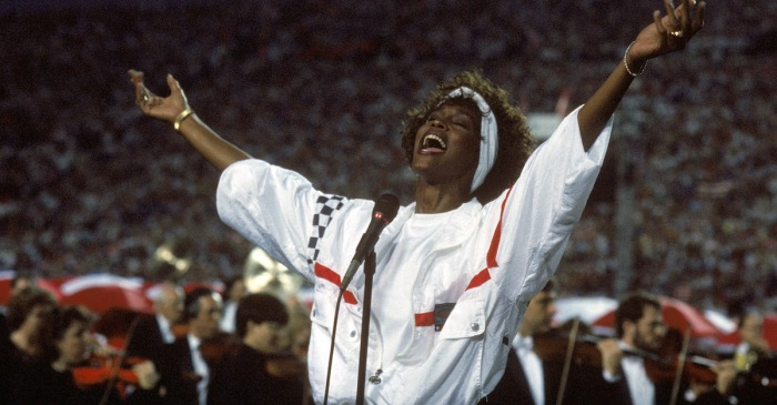 "Whitney Houston gave a performance of ""The Star-Spangled Banner"" that went down in history"
