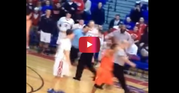 This hardass coach pulled the most savage move of the century when a call didn't go his way