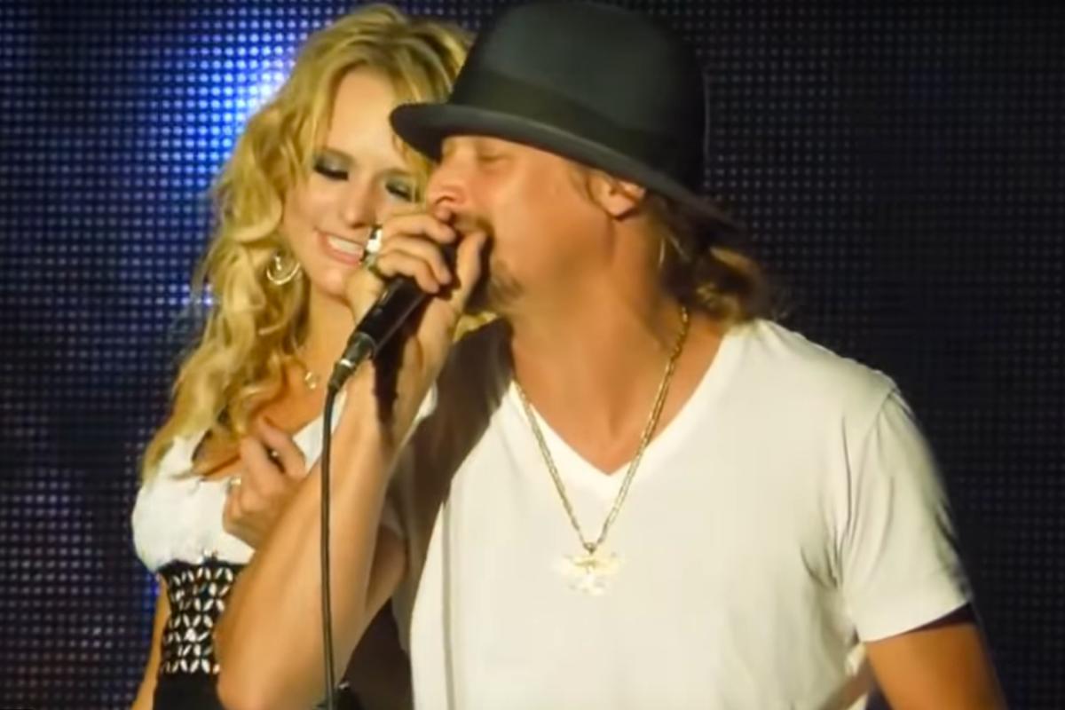 We forgot how unbelievably hot this duet was between Miranda Lambert and Kid Rock