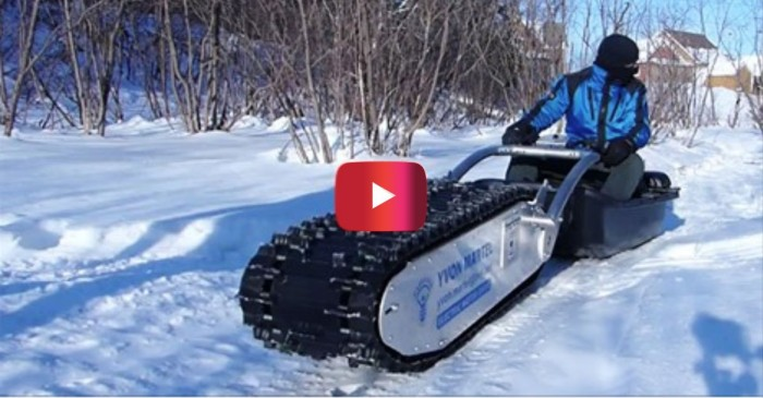 Check out the snow machine to end all snow machines