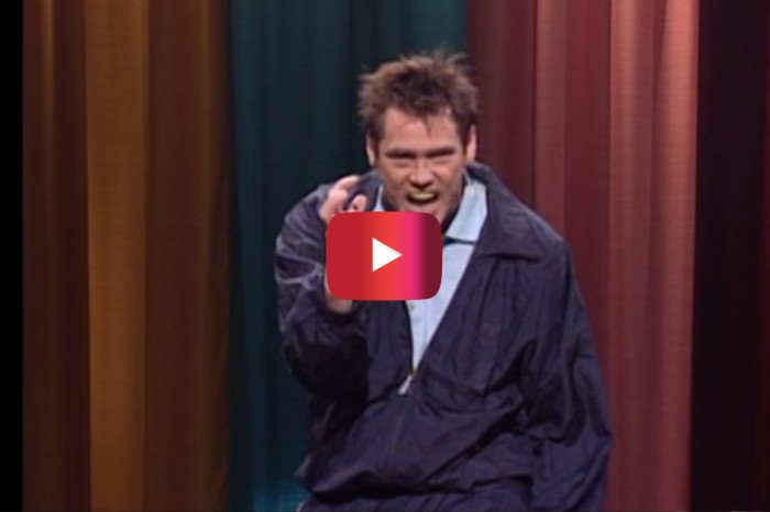 Jim Carrey brings it in ways never imagined in this classic SNL sketch