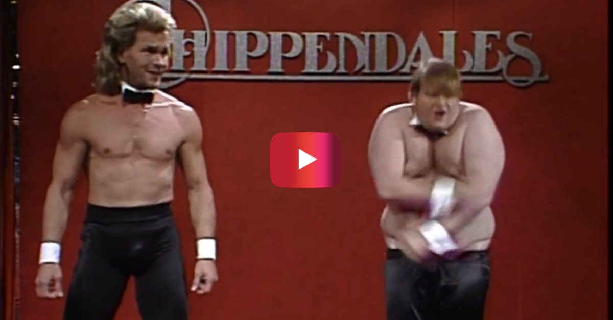 Over 25 years later, the sketch that launched Chris Farley's career is still one of the funniest ever