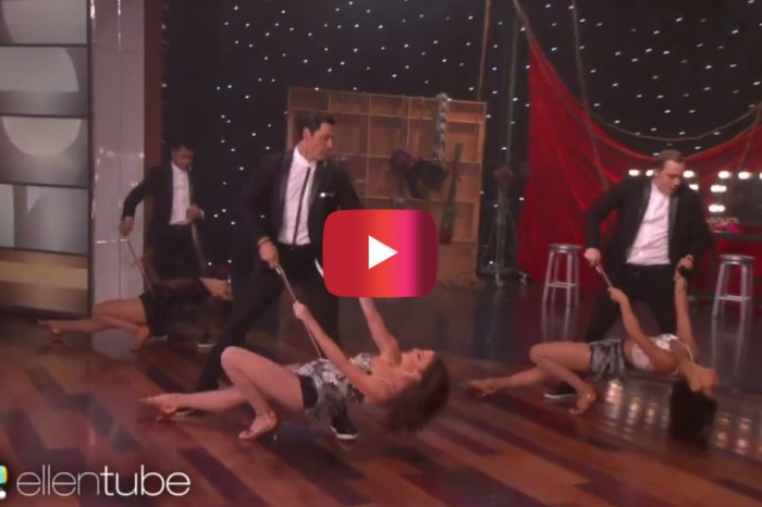 "These ""DWTS"" brothers had Ellen hootin' and hollerin' after their steamy dance performance"
