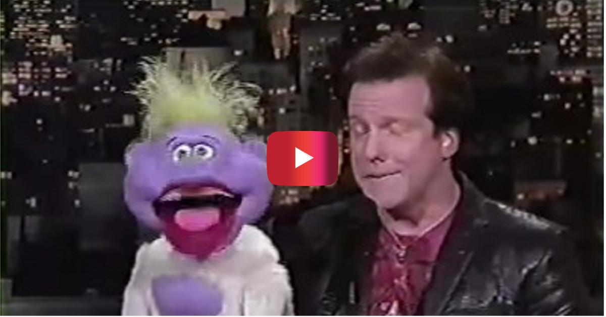 "Peanut and Jeff talk dentists and ""bodacious teeth"" on David Letterman"