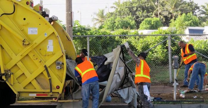 Houston declares 'City of San Antonio Day' to honor the city's heroic sanitation workers