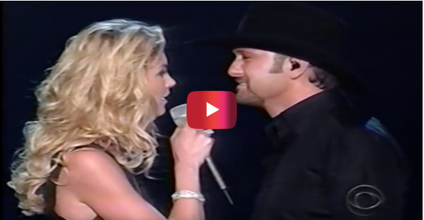 Watch the sparks fly between Faith Hill and Tim McGraw during this steamy duet
