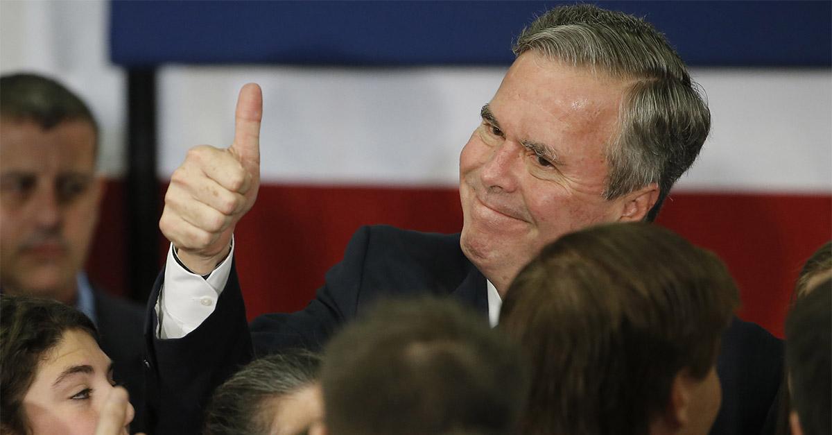 Jeb Bush takes a swipe at President Trump in his latest interview