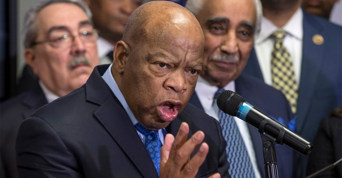 Rep. John Lewis shares how he remembers his friend, Dr. King, on the day he is celebrated