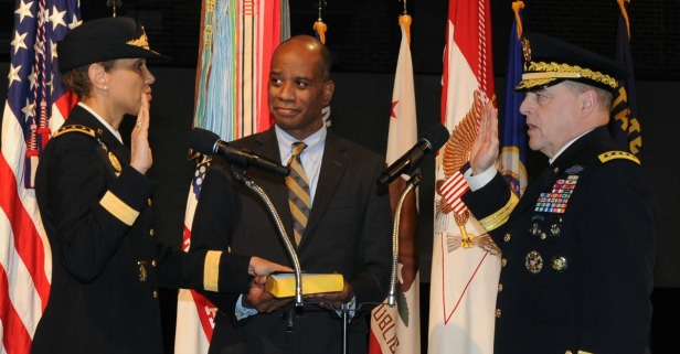The Army's new surgeon general made history this week