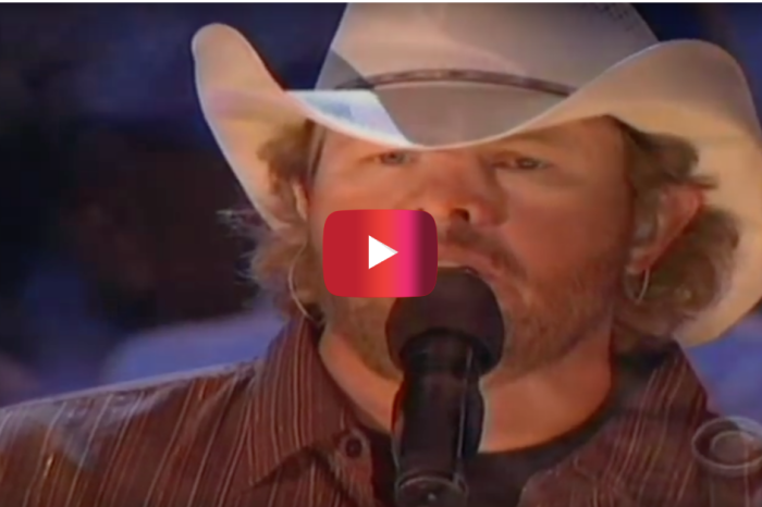 Toby Keith salutes the men and women of our military with this heart-shattering tribute