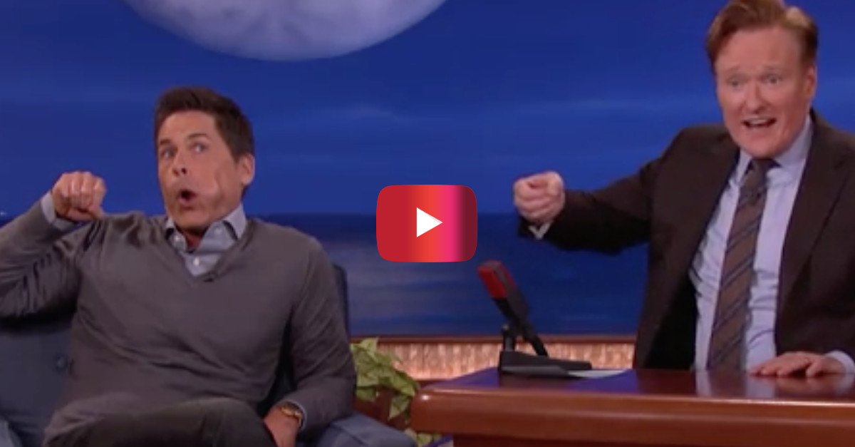 When Cary Grant met Rob Lowe he gave the young actor one piece of advice he'd never forget