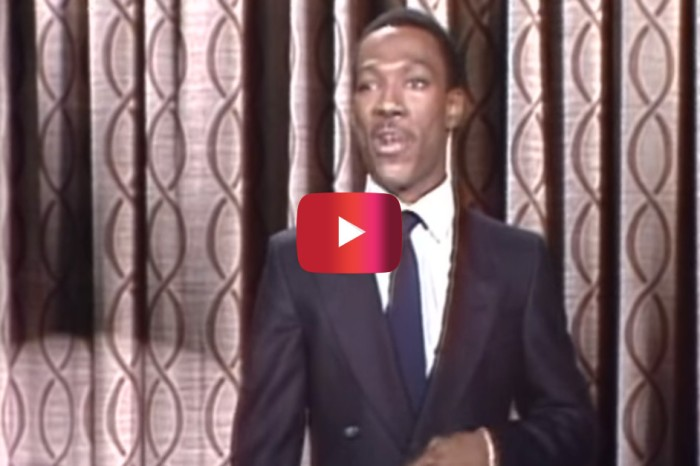 "Eddie Murphy's 1st Appearance on ""The Tonight Show Starring Johnny Carson"" Remains Relevantly Funny 40 Later"