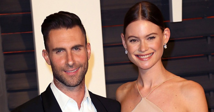 """The Voice"" coach Adam Levine and Behati Prinsloo welcome baby number 2"