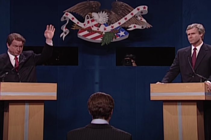 The 'Strategery' Bush vs. Gore Debate Sketch on SNL is an All-Time Classic