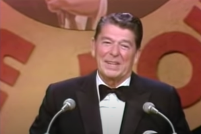 Before He was President Ronald Reagan Roasted Frank Sinatra