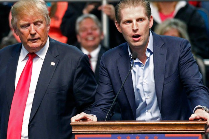 Trump's son says media coverage of president would drive anyone to suicide