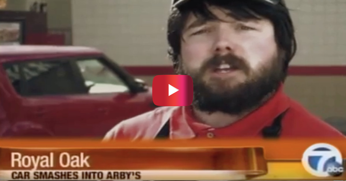 Weird Arby's guy had the Internet rolling with his post-crash analysis, but here's the catch