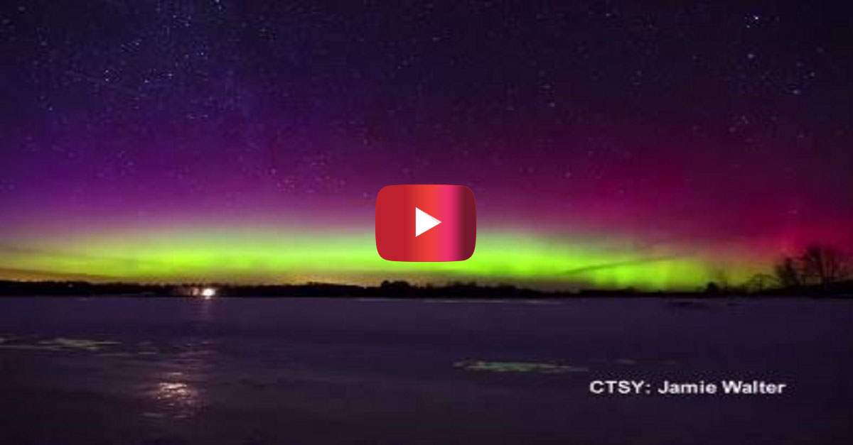 This time-lapse of the Northern Lights in Maine will make you want to see them for yourself one day