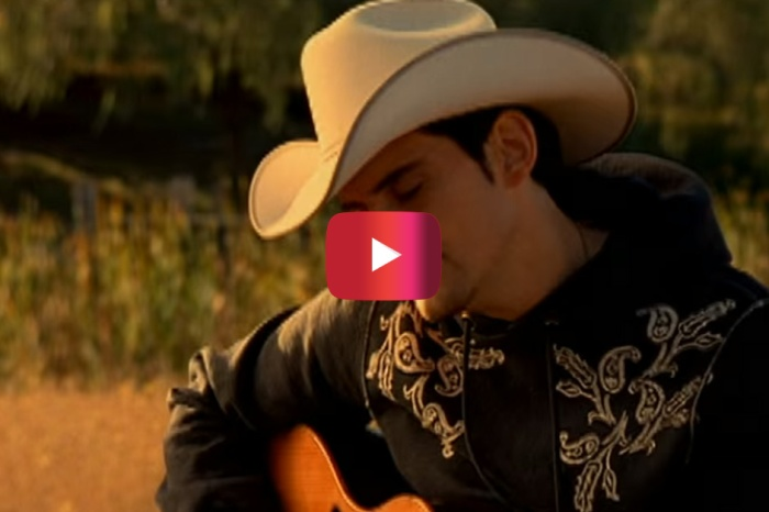 Take a step back in time to when Brad Paisley's ode to the heavens made us cry