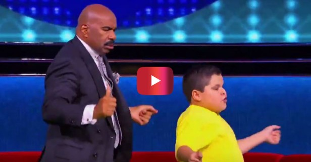 As it turns out, Steve Harvey and this little Latin dancer have a lot in common