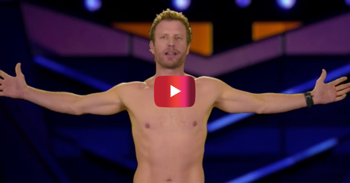 Dierks Bentley just took it way too far for a laugh at the ACM Awards