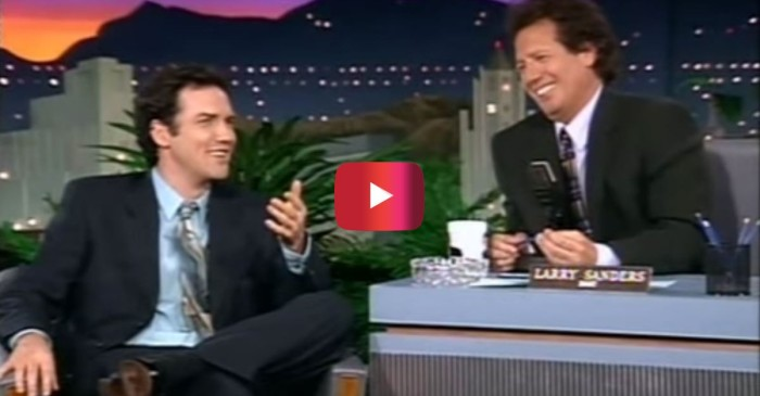 "Norm Macdonald is comedy gold alongside Garry Shandling on ""The Larry Sanders Show"""