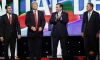 Marco Rubio, Donald Trump, John Kasich, Ted Cruz