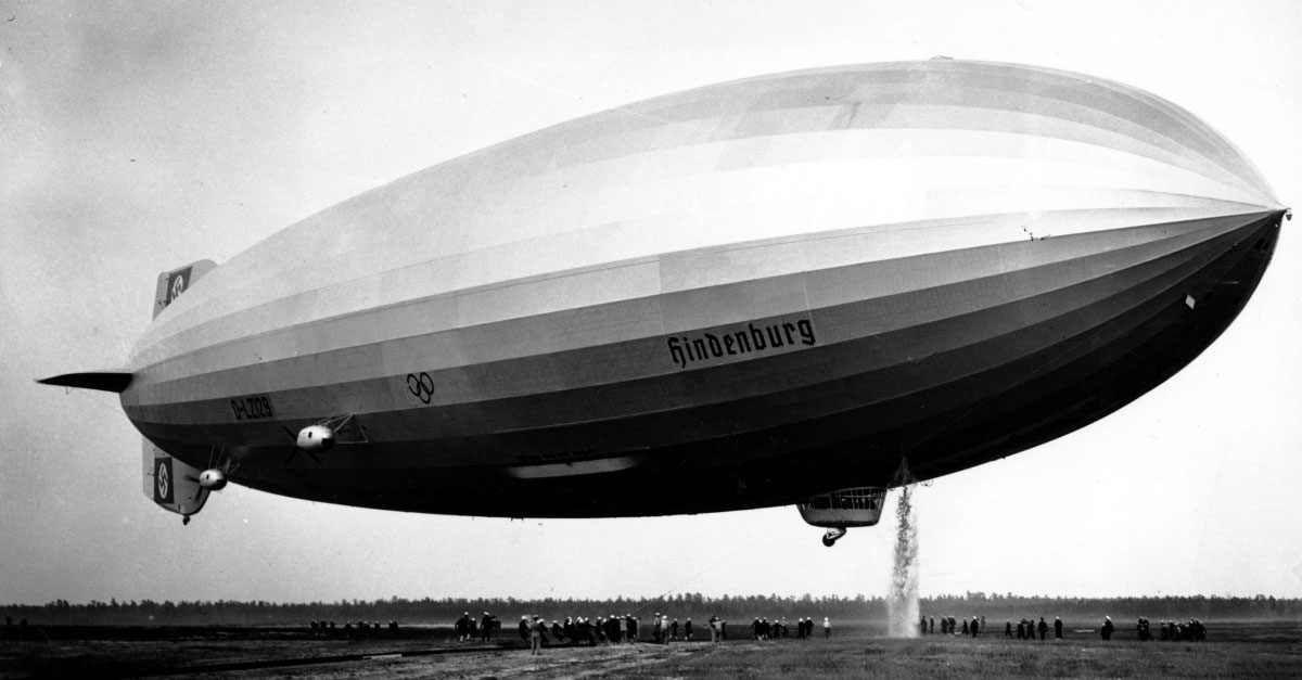 Today in history: The Hindenburg took its first flight in Germany 80 years ago