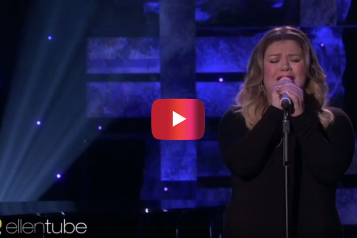 "Kelly Clarkson's emotional performance on ""The Ellen DeGeneres Show"" will tear you apart"