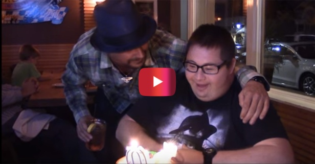 Kid Rock shows off his soft side by granting his biggest fan's birthday wish