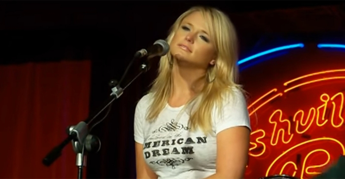Relive the moment when Miranda Lambert spun an unplugged Patsy Cline classic