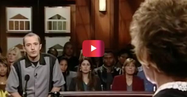 """He said """"like"""" like a million times on, like, Judge Judy's show and she unleashed sass of epic proportions"""