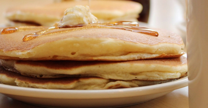 """""""Get Behind the Vest"""" initiative event serves 10,000 pancakes"""