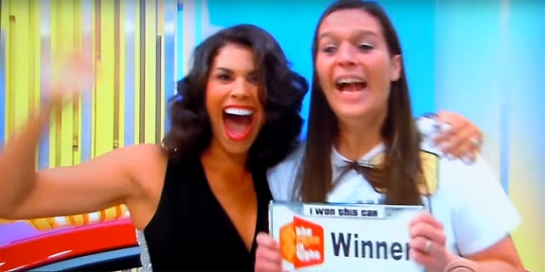 "A woman's unreal Yahtzee moment on ""The Price is Right"" had everyone in the building jumping up and down"