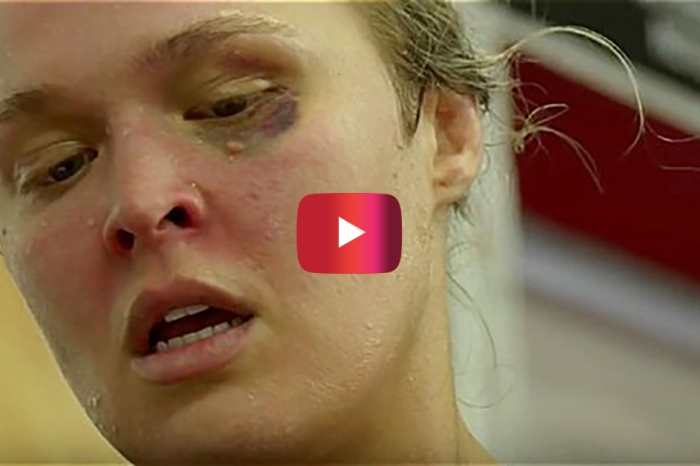 Ronda Rousey can do something she hasn't been able to in months, and wow is she excited