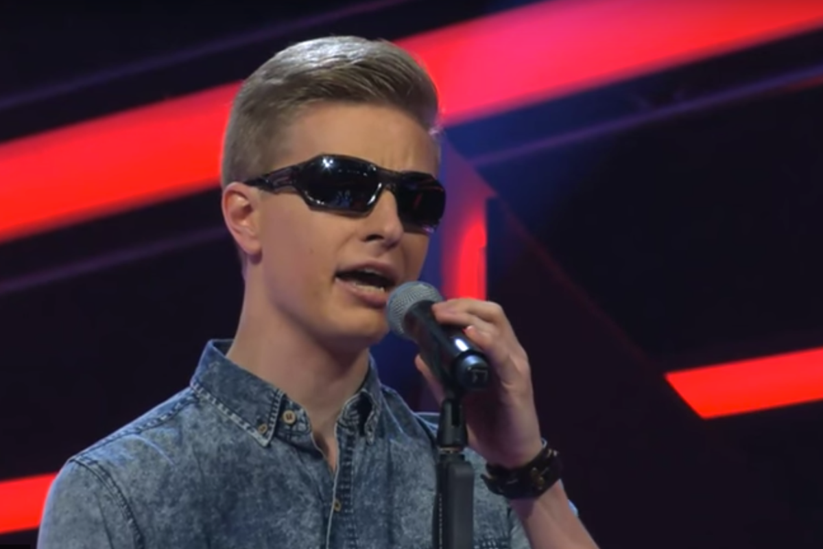 "This blind young man left one ""The Voice"" judge crying, so be prepared to tear up too"