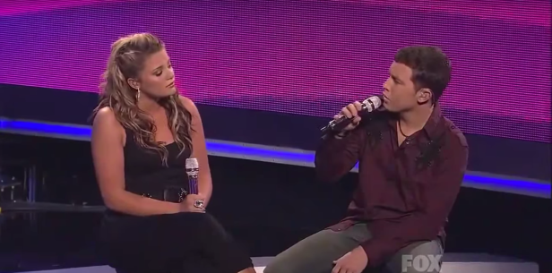 "Flashback to when Scotty McCreery and Lauren Alaina combined voices to wow everyone on ""American Idol"""