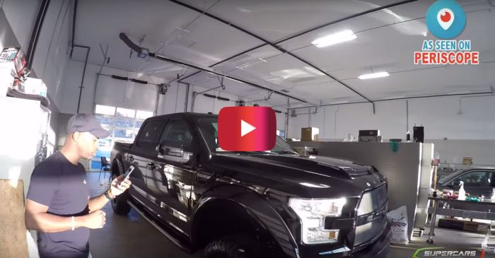 Check out Ford's 700 HP Shelby Cobra F-150
