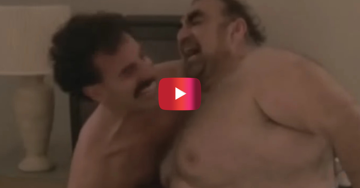 """Sacha Baron Cohen finally admits the worst part about filming THAT scene from """"Borat"""""""
