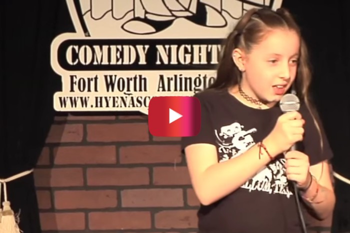 This little girl is wowing comedy clubs with the humor and patience of comedians far beyond her years